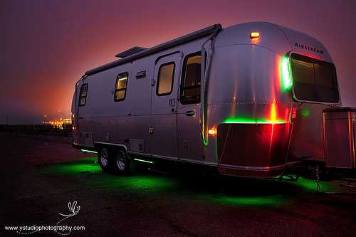 green airstream remodel airstreamy