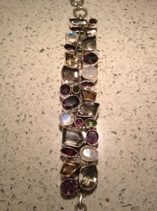 Bracelet I bought at the 59th annual Tucson gem and mineral show