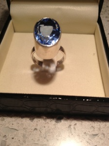 Ring I bought at the 59th annual tucson gem and mineral show