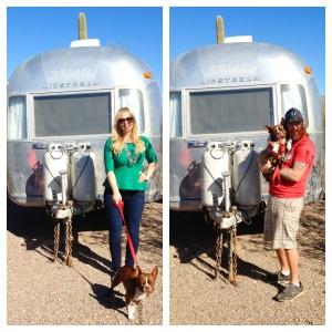 Airstreamy at Gilbert Ray campground