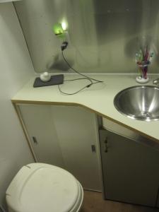 Mali Mish airstream bathroom