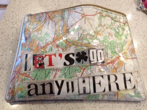 Let's go anywhere purse