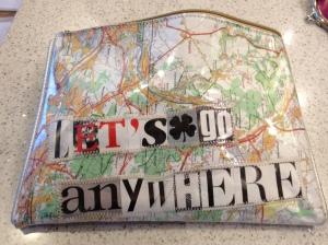 Let's go anywhere purse