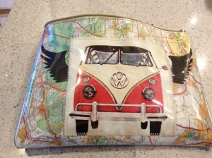 vw van travel purse